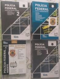 Apostilas Polícia Federal + Apostila de Questões PF(ÓTIMO ESTADO)
