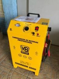 Título do anúncio: Carregador de bateria automotivo 100 amperes (garantia)