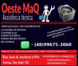 Título do anúncio: Oeste Maq Conserto de Eletrodomésticos.