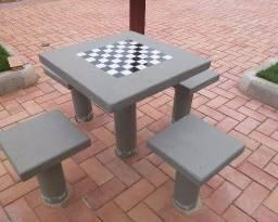 Título do anúncio: Mesas madeira ou concreto
