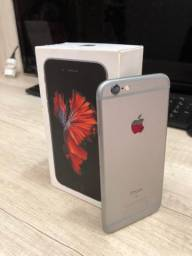 Celular iPhone 6s prata 32gb usado.