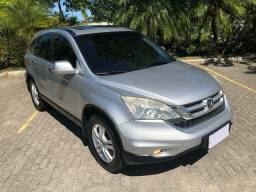 Honda CR-V Exl 4x4 Automática 2010/11 C/ Teto e Couro