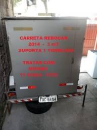 Título do anúncio: Carreta Rebocar 2014
