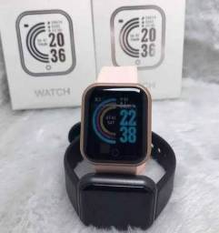 Título do anúncio: Relógio inteligente D20 smart watch para exercícios fisicos