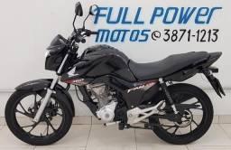 Honda Fan 160 Cbs Preta 2019