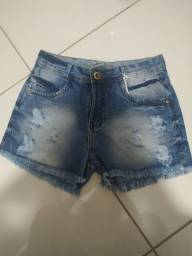 Short jeans nunca usado!