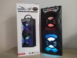 Título do anúncio: Caixa de som Grasep Db-h4202 - Bluetooth Pen Drive USB