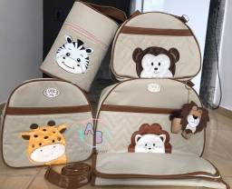 Título do anúncio: Kit de malas maternidade tema Safari