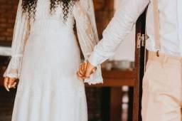 Título do anúncio: Vestido de noiva Luxo