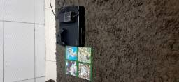 Xbox one completo e com jogos original