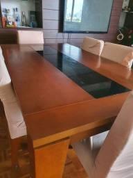 Mesa jantar + 6 cadeiras Gramado