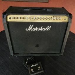 Título do anúncio: Amplificador Marshall Valvestate VS100 c/ Pedal Footswitch