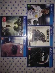 Título do anúncio: Troco jogos PS4 em ótimo estado