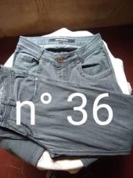 Título do anúncio: Calças jeans e camisa social masculina
