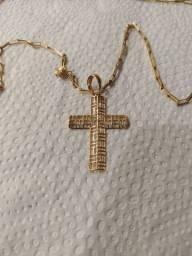 Cordao de ouro 4.0 gramas 60 cm *