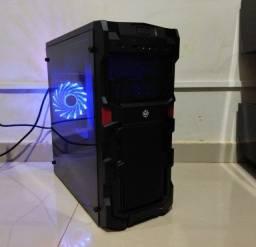 Título do anúncio: Pc Gamer Xeon 2420 + RX 460