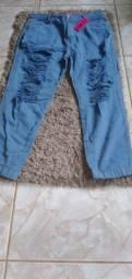 Título do anúncio: Vende-se essa calça jeans sem lycra n.44