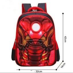Mochilas 3D Homem De Ferro Importada**Oferta**