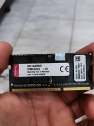 Título do anúncio: Memória RAM HyperX Impact Semi novo