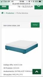 Cama Casal Sofo 138