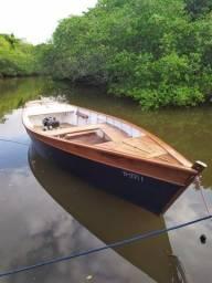 Título do anúncio: Ótimo Barco Madeira