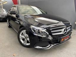 Título do anúncio: Mercedes-benz c 180 17/18 1.6 cgi flex avantgarde