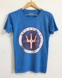 Título do anúncio: Camiseta Osklen Azul P