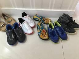 Combo de calçados número 27 e 28