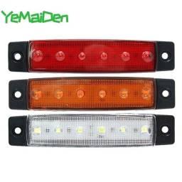 Título do anúncio: LED Para Caminhão 12v 2Pçs Carretinha Baú Adaptavel cores