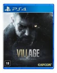 Resident Evil 8 Village Jogo Mídia Física Novo Lacrado