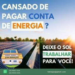 Título do anúncio: Energia Solar para residências, comércios e indústrias.