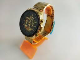 Título do anúncio: Relógio Winner Automático Aço Inoxidável (não usa bateria)