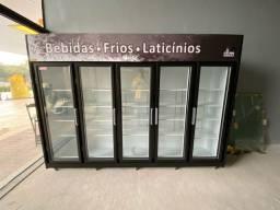 Título do anúncio: Geladeira Expositora vertical Frilux 5 portas