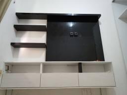 Painel de TV com gavetas
