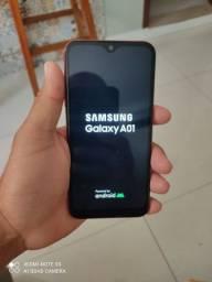 Samsung A01 pra vender logo 500 reais.