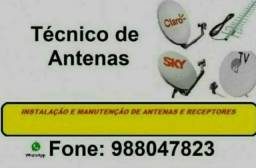 Título do anúncio: Técnico de Antena