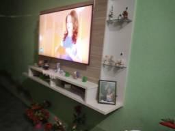 """Tv Smart 50"""" Polegadas 4K Com Wi-fi Integrado Mais Painel"""