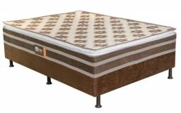 Título do anúncio: cama box casal - com pilow