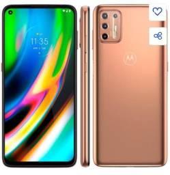Celular Motorola moto G9 Plus rosé