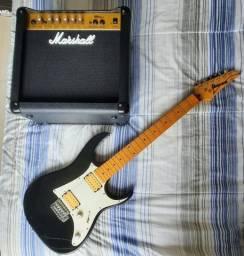 Guitarra e Amplificador de Som venda ou troca