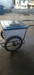 Título do anúncio: Vendo carrinho de sorvete valor 580 watts *