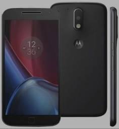 OPORTUNIDADE!!! Excelente Moto G4 Plus Black e Red, 3RAM, 32GB, Tela 5.5, 16 MP, CX e NF
