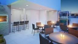 Título do anúncio: apartamento na navegantes 2 quartos com suíte vista mar lazer na cobertura-SM