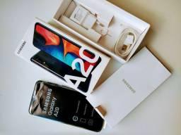 Samsung A 20 com 1 ano de Garantia