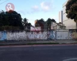 Título do anúncio: Terreno de 330m² para locação por R$1.800,00/mês na Boa Vista - Recife/PE.