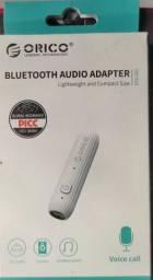 Título do anúncio: Adaptador de áudio Bluetooth orico com cabo p2 p2