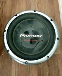 "Título do anúncio: Subwoofer Pioneer 12"" 308 2D"