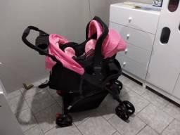 Título do anúncio: Carrinho com bebê conforto