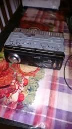 Auto rádio Multilaser cartão de memória