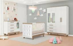 Quarto de Bebê Retrô Completo - Promoção R$ 2207,00